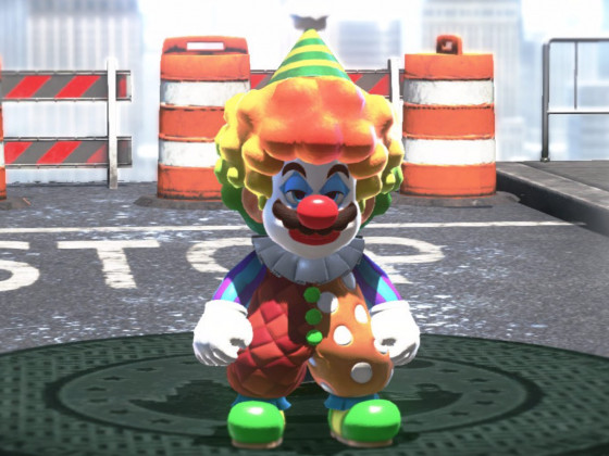 It's a me, Pennywise! Don't you want a balloon?