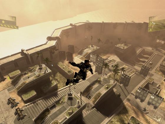 Halo 3: ODST - Sergeant Johnson macht 'nen Abflug