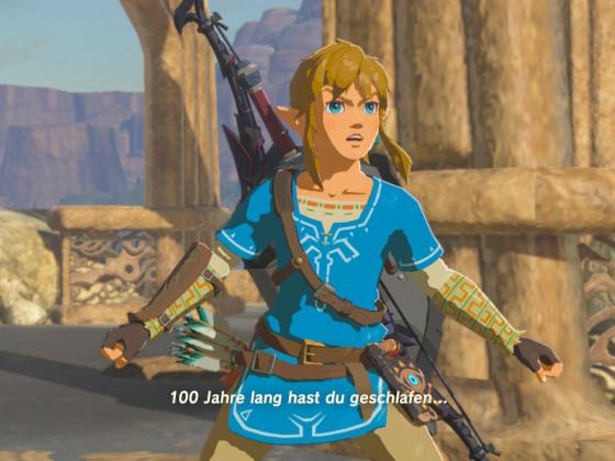 Zelda Cutscene - Gear