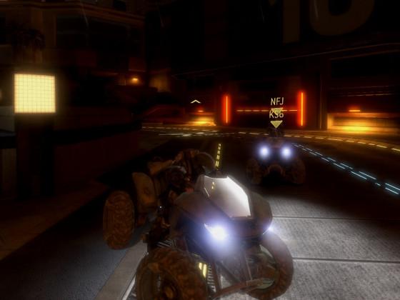 Halo 3: ODST - New Mombasa Drift