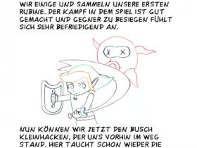 Link's Awakening 04 Zauberpulver