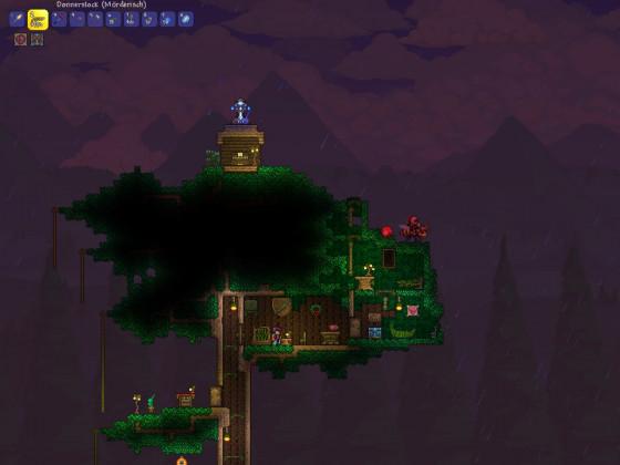 Trautes Heim in der Baumkrone