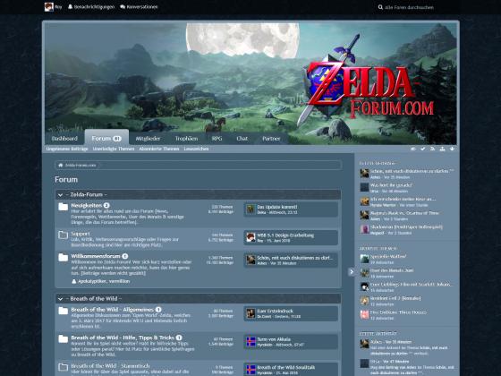 """ZF Design: """"Zelda Wii U Nacht"""" (WBB4)"""